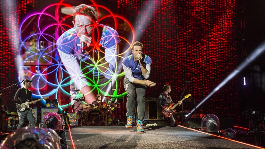 Coldplay till Sverige – enda spelningen i Norden