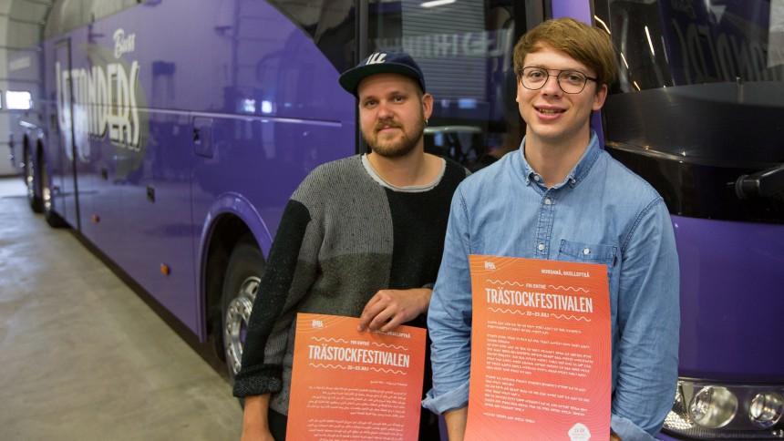 Gratis festivalbussar för nyanlända