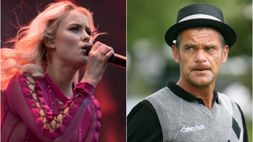 Jesper Parnevik ber Zara Larsson om ursäkt efter terrorutspel