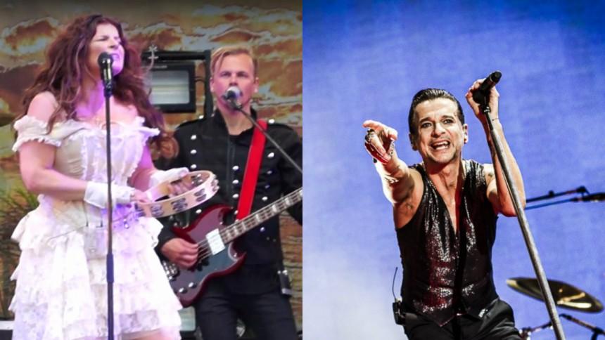 Se Carola slakta Depeche Mode-klassiker