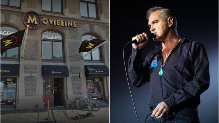 Morrissey shoppar loss i Göteborg