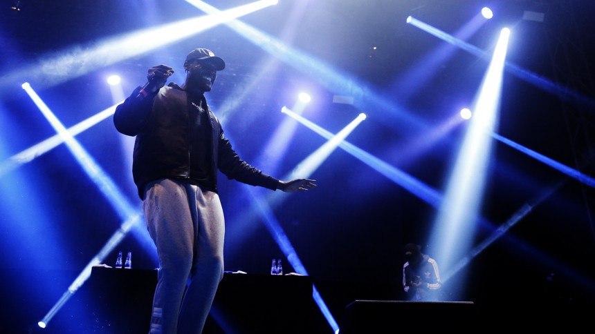 Rasande energisk rap från näste grime-kung