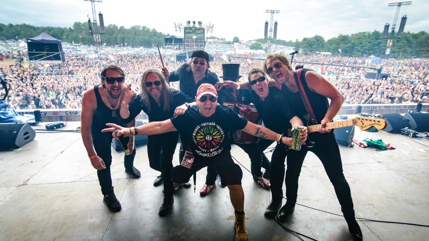Svenskt band utvalt av Woodstockpubliken – spelade inför 100 000
