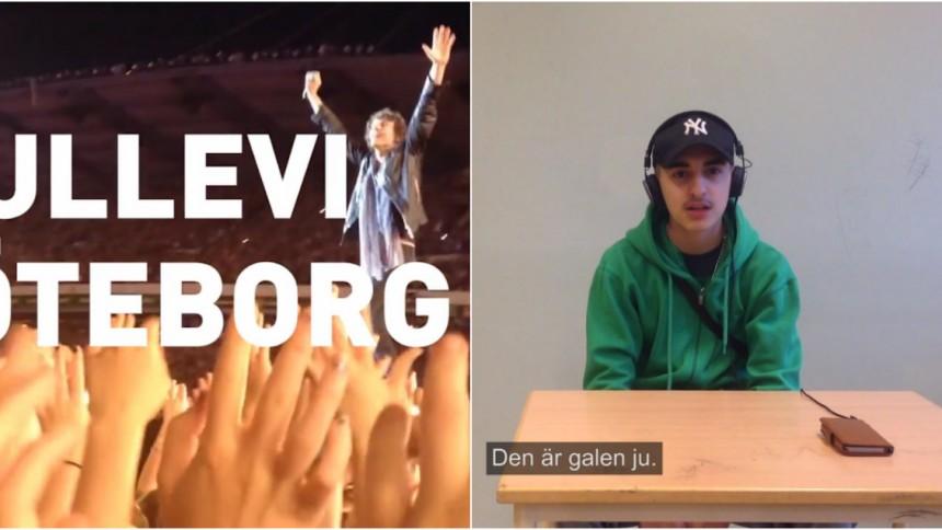 Kortfilm med Håkan Hellström visar upp ett delat Göteborg