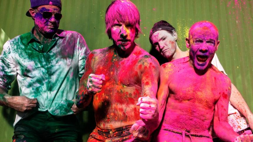 "Red Hot Chili Peppers: ""Vi kommer att fuck around"""