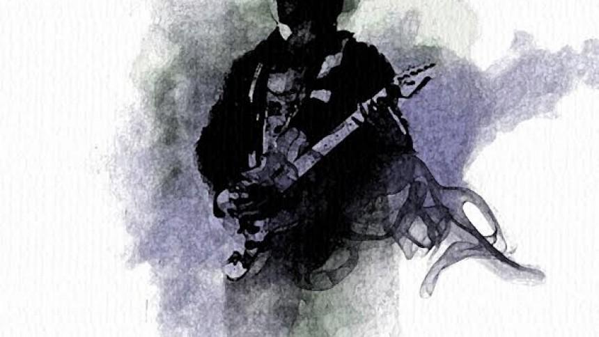 Ung gitarrvirtuos släpper sitt första solomaterial