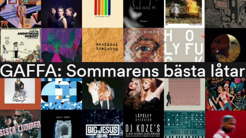SPELLISTA: Här är sommarens bästa låtar