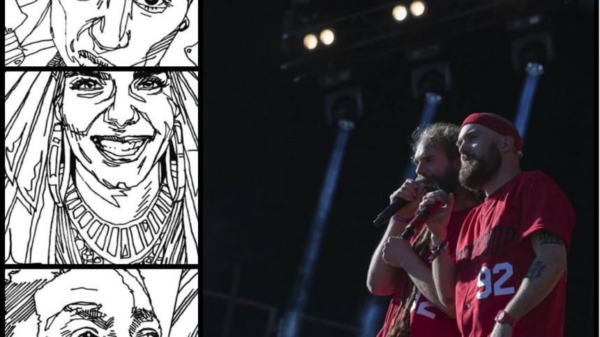 Här är den, första målarboken med svenska rappare