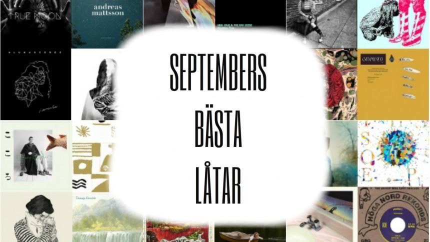SPELLISTA: Septembers bästa låtar