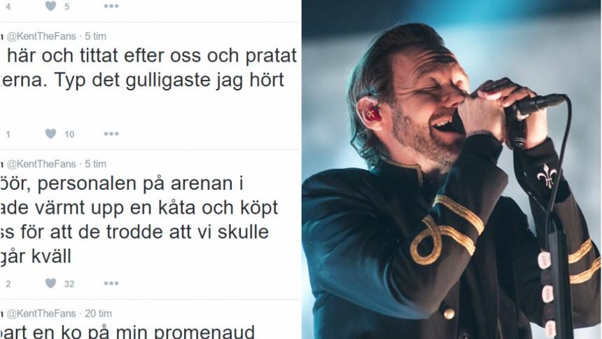 Kent-fans erbjudna kåta i Kiruna