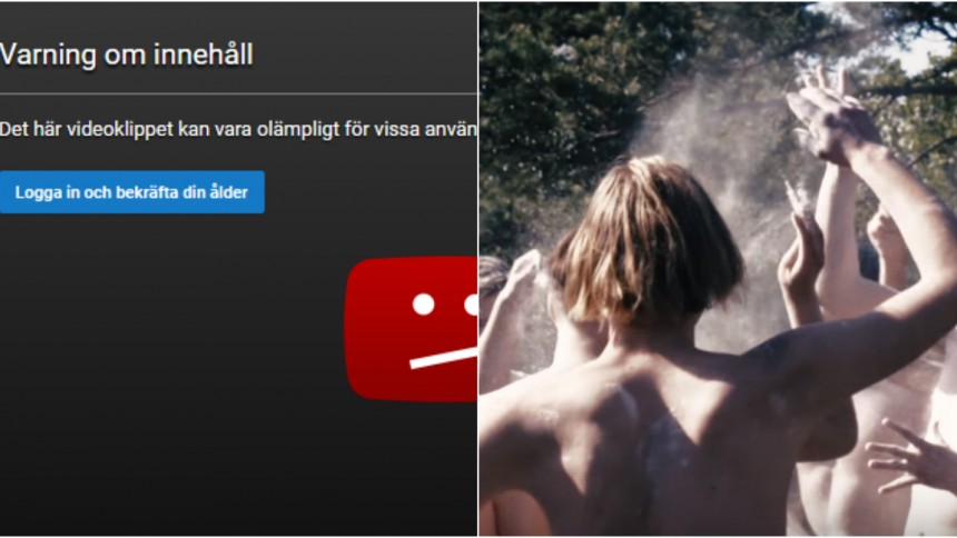 Lykke Lis regidebut spärras på Youtube