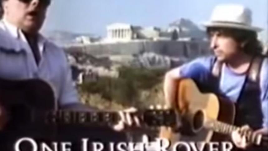 TBT: Bob Dylan, Van Morrison och ett grekiskt bergsparti