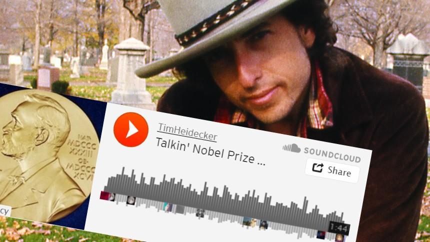 Hör klockren Bob Dylan-parodi om Nobelpriset