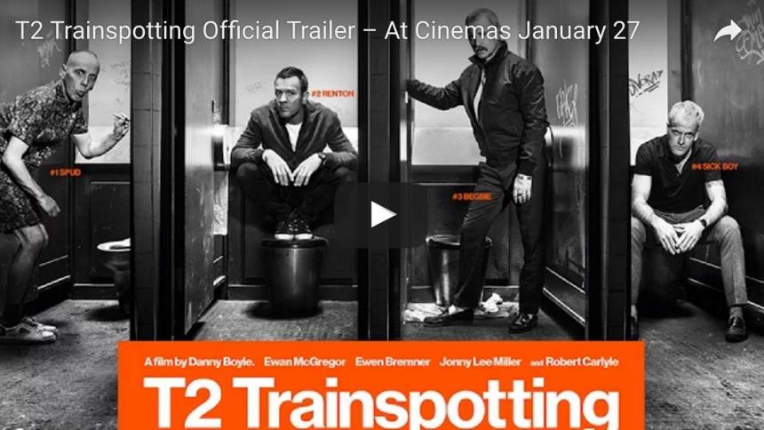 Se första trailern till Trainspotting 2