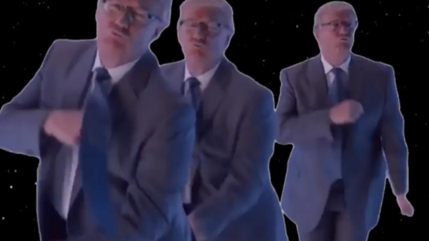 VIDEOPREMIÄR: Donald Trump dansar – Marigold snackar om att lämna jorden