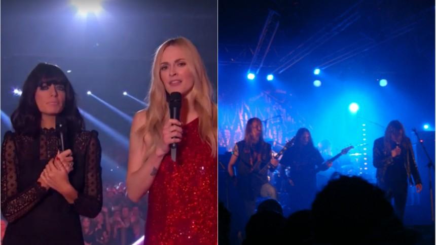 Svenskt metalband fick oväntad draghjälp under BBC Music Awards