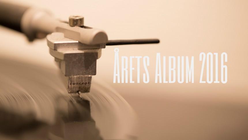 ÅRETS ALBUM 2016