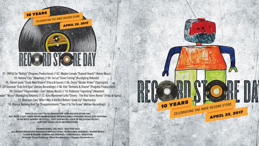 Svenska skivbolag går samman – ger bort skiva under Record Store Day