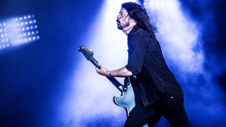 De öppnar för Foo Fighters i Sverige