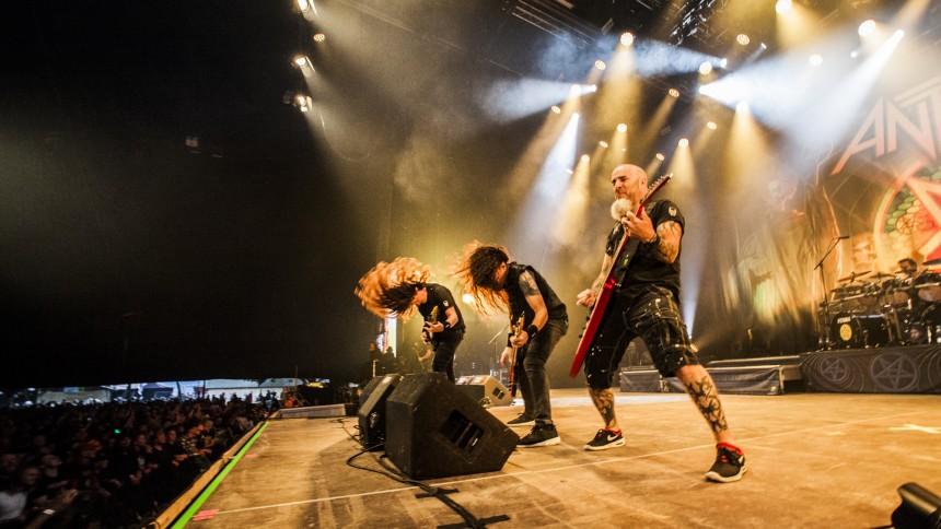 Anthrax firar 40 år med två Sverigespelningar