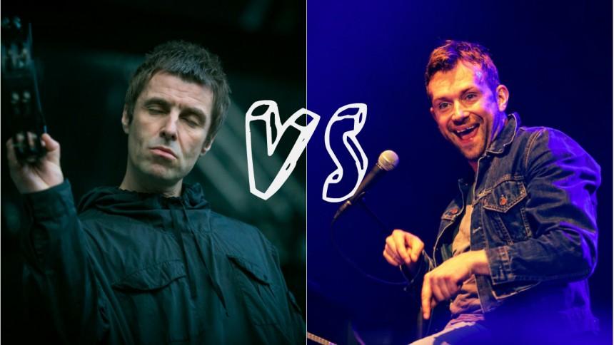Svenska artister tolkar Oasis och Blur