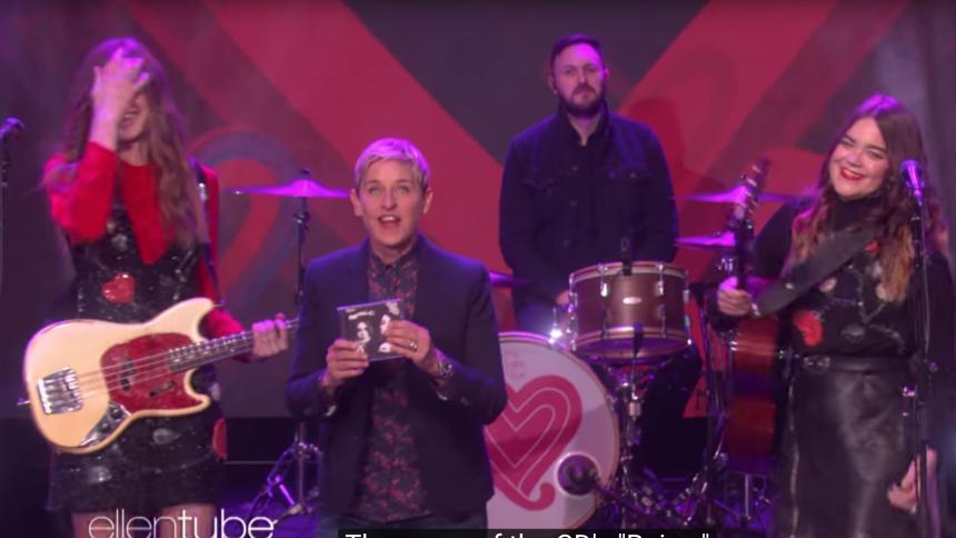 Se First Aid Kits bejublade framträdande på The Ellen Show