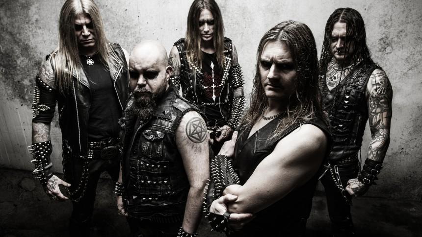 Väloljad svartmålad death metal