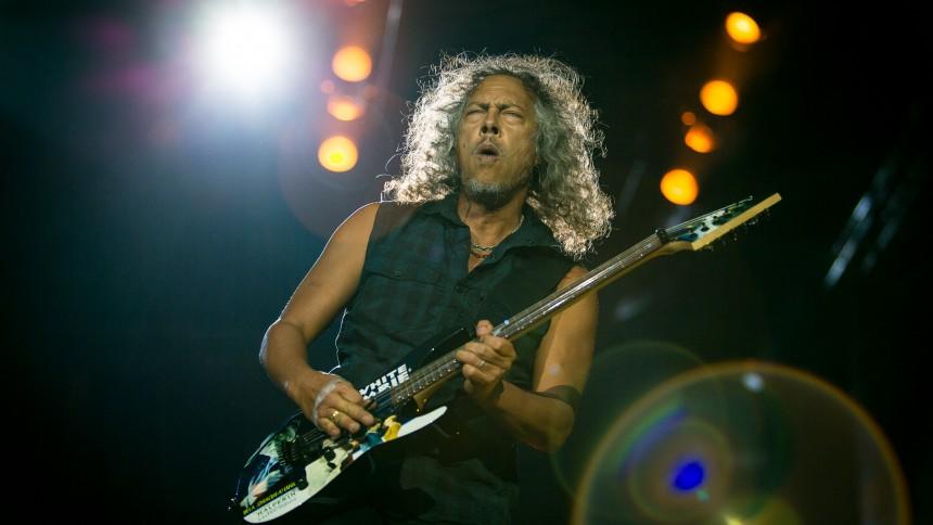 Metallica-gitarristen halkade på sin pedal – se hans nesliga vurpa