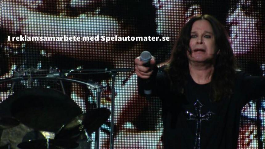 Ozzy Osbourne bakar in Sweden Rock i avskedsturnén