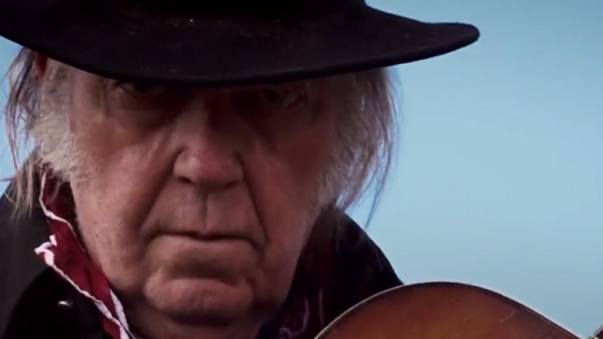 Netflix visar westernmusikal – med Neil Young
