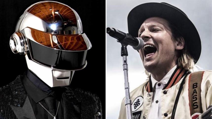 Arcade Fire-sångaren med oväntat uttalande om Daft Punk
