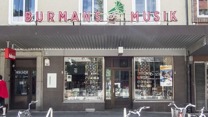 Företag hjälper skivbutik från konkurs