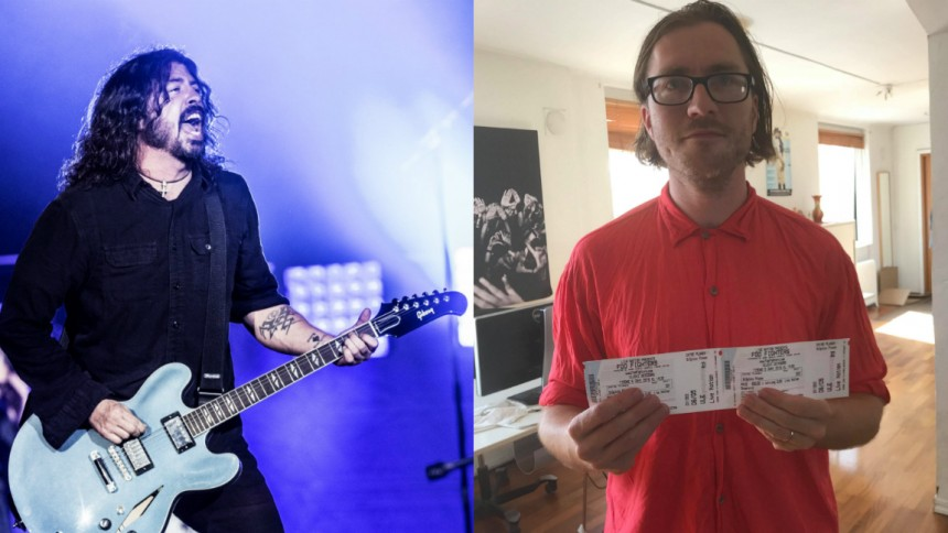 TÄVLING: Hitta oss i Göteborg – vinn 2 biljetter till Foo Fighters