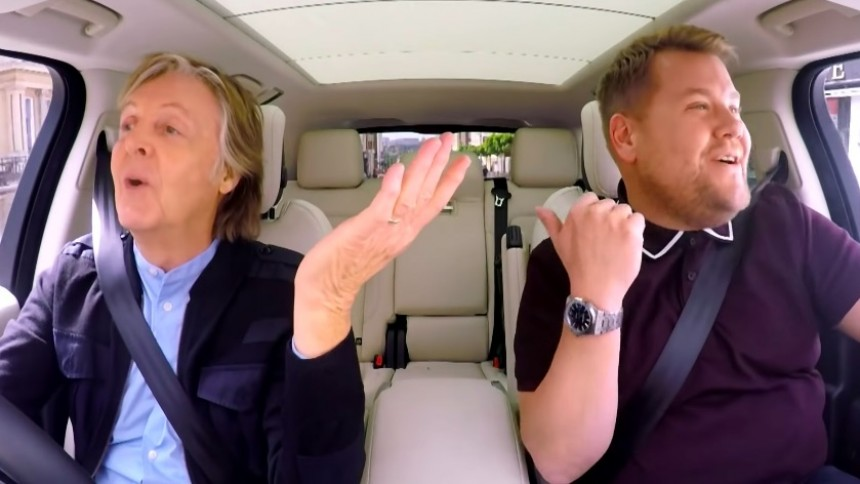 Paul McCartney + Carpool Karaoke = sant