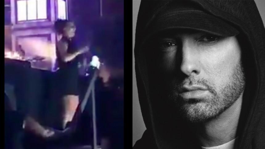Eminems teckenspråks-tolkare hyllas