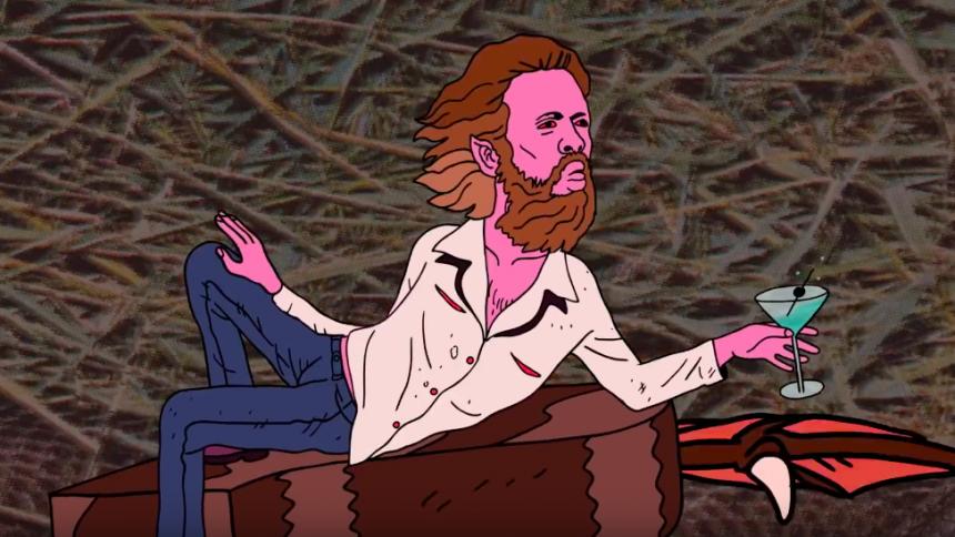 Ny animerad video från Father John Misty