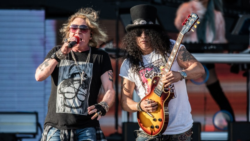 MEST LÄST: Slash med goda nyheter till Guns N' Roses-fansen