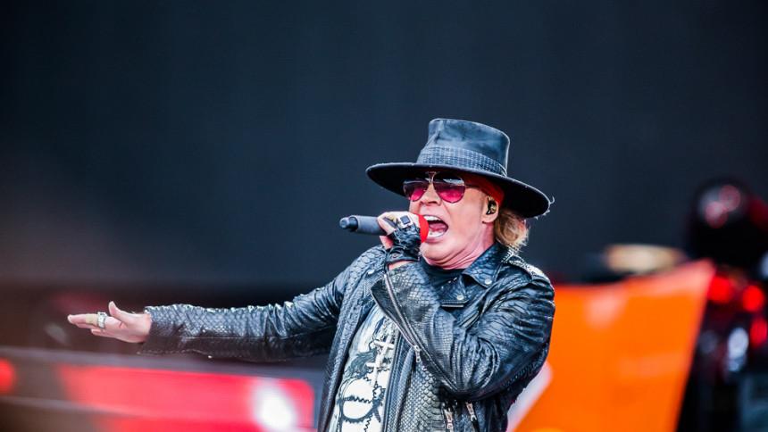 Guns N' Roses ryktas ha spelat in ny låt till den kommande Terminator-filmen