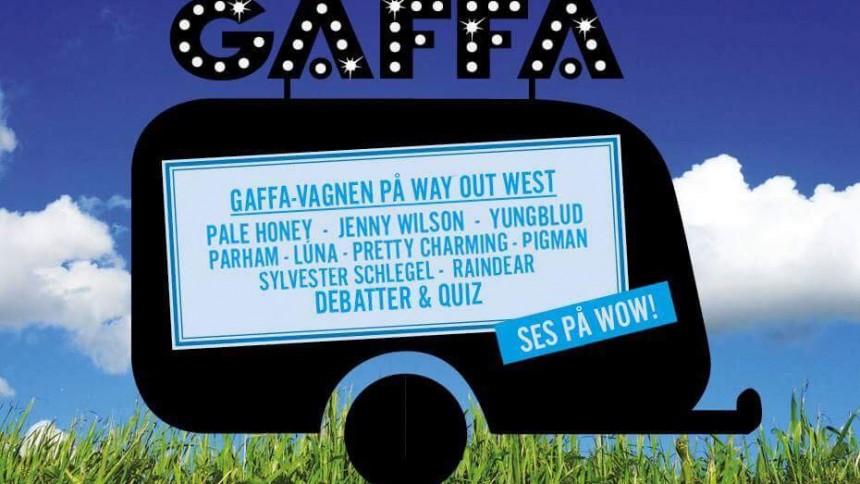 Detta händer i GAFFA-Vagnen under Way Out West – kolla in schema