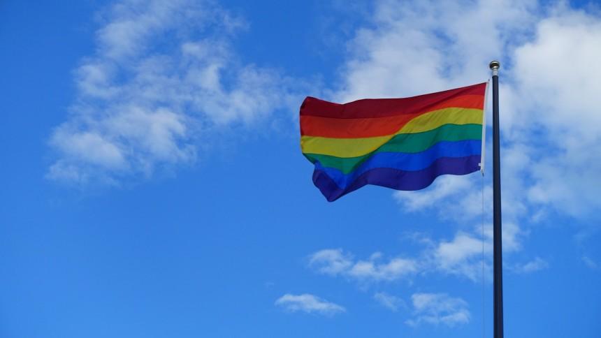 Regnbågsflaggor plockas bort inför stjärnans Sverigespelning