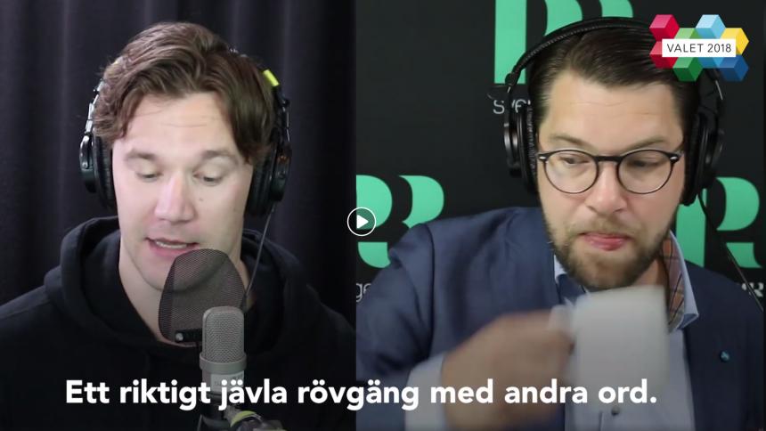 MEST LÄST: P3 delar Jimmie Åkesson-roast – och kommentarsfältet svämmar över