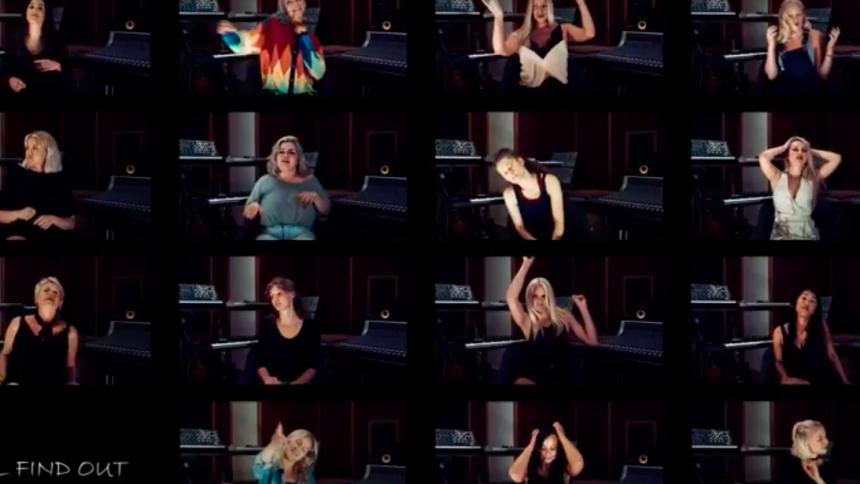 PREMIÄR: Se reaktionen när 15 kvinnor tar del av Stockholm Noirs nya känslosamma låt