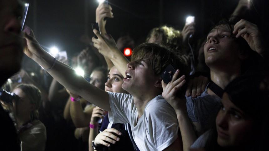 """""""Förbjud smartphones på konserter"""""""