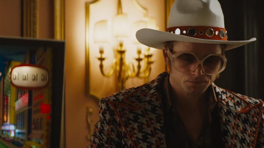 Se första trailern från den kommande Elton John-filmen