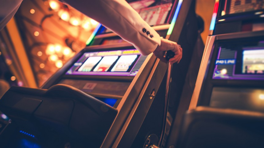 5 musiker som spelar på casino