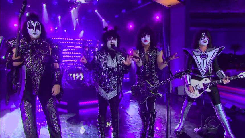 "Komikern orkar inte ""Rock All Nite"" med Kiss"