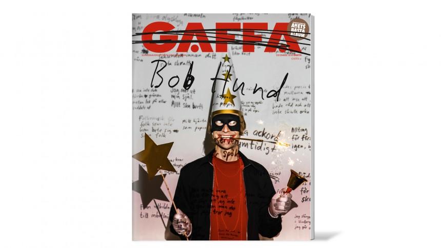 Bob Hund kapar GAFFAs omslag