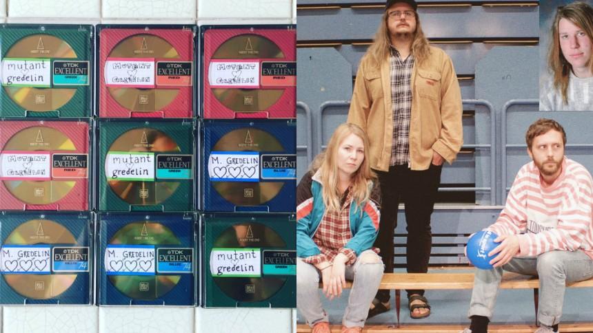 Svenskt band släpper musik – på minidisc