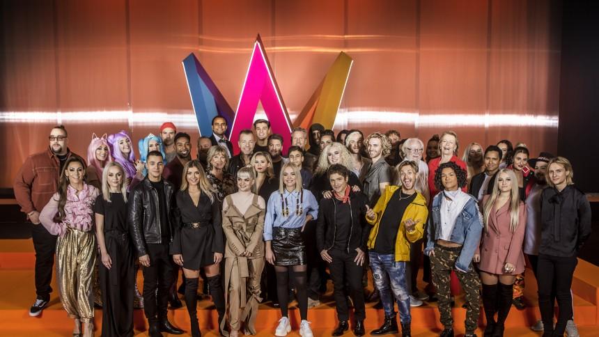 De tävlar i Melodifestivalen 2019