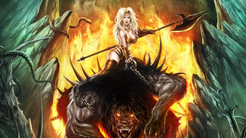 Ett lejonvrål med lika delar syntpop och heavy metal
